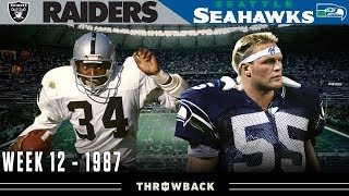 """Bo vs. the Boz"" (Raiders vs. Seahawks, 1987)"