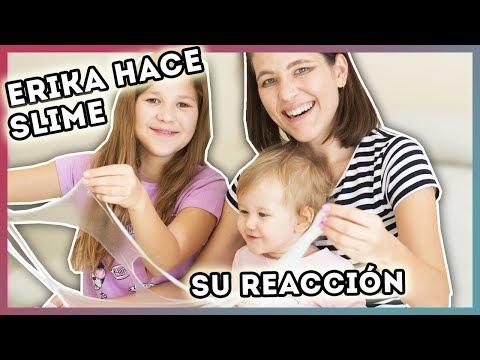 Erika hace Slime ¿Le gusta?   Daniela Golubeva elige colores para la casa   Yippee Family