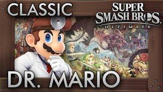 Super Smash Bros. Ultimate: Classic Mode - DR. MARIO - 9.9 Intensity No Continues