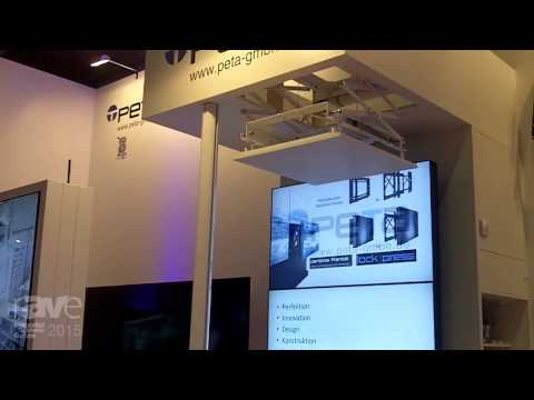 ISE 2015: PeTa Talks About the Services They Offer Such As Custom-Made Mounts