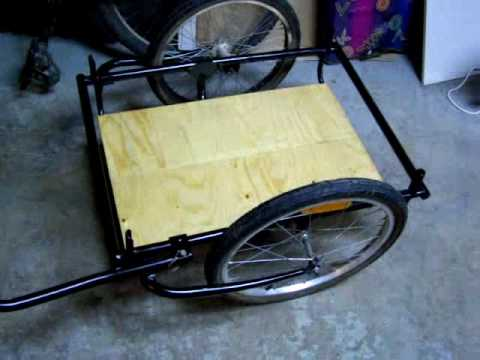 DIY: Bike Trailer Build / Rebuild