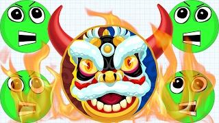 Agar.io OMG The MOST Intense Battle Ever AG vs AG Agar.io Mobile Best/Funny Gameplay!
