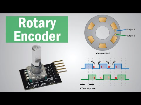 How Rotary Encoder Works and How To Use It with Arduino - YouTube