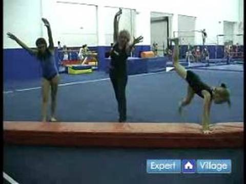 Gymnastics Moves & Routines for Beginners : How to Do a Cartwheel