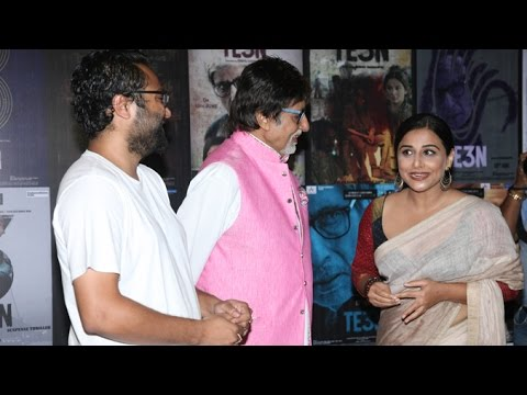 TE3N Movie Promotions | Amitabh Bachchan, Vidya Balan