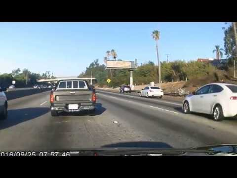 UBER Accident on I-10 9/25/2016 at 7:57am