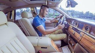 XEHAY - Lái Rolls Royce Phantom Rồng 50 tỷ cực DỄ nhưng cực RUN
