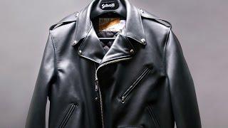 How a Schott Motorcycle Jacket is made - BRANDMADE.TV