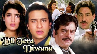 Dil Tera Diwana in 30 Minutes | Saif Ali Khan | Twinkle Khanna | Superhit Hindi Action Movie