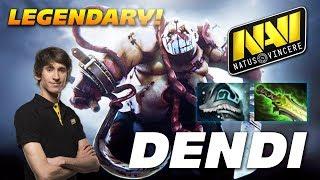 Dendi Legendary Pudge | Dota 2 Pro Gameplay
