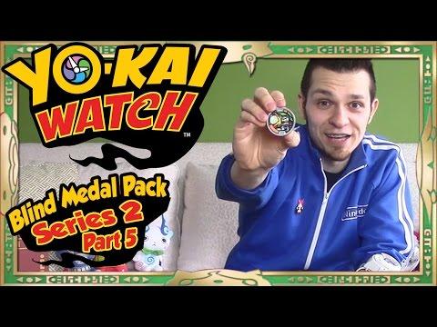 Yo-Kai Watch Series 2 Blind Medal Pack Openings - Part 5   FINAL Pulls?!