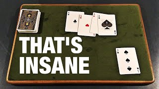 Card Trick So Impossible It FOOLS MAGICIANS