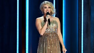 Cma Awards Carrie Underwood 39 S Best Hosting Moments Of The Night