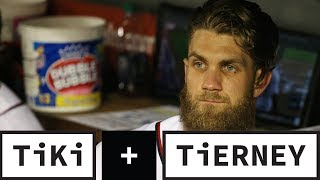 Bryce Harper Signs With The Phillies | Tiki + Tierney