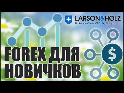 Как зарабатывать на Forex без вложений? Партнерка Larson & Holz.