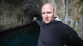 INSANE submarine tunnels from WW2  in Croatia!