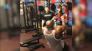 Titus O'neil Training For WWE   Muscle Madness..
