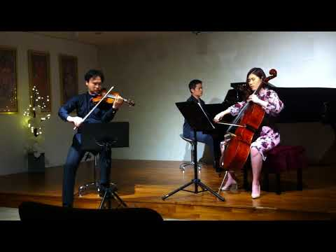 Whisper Of The Heart / Howl's Moving Castle Piano Trio