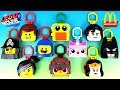 2019 McDONALD'S LEGO MOVIE 2 THE SECOND PART HAPPY MEAL TOYS FULL SET 10 KID ASIA EUROPE US UNBOXING thumbnail