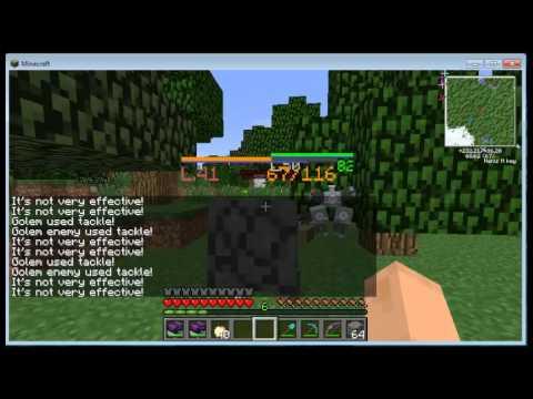 Minecraft+ pokémon pokecub? como achar e upar o graveler para golem