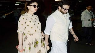 Kareena Kapoor And Saif Ali Khan Off To Dubai For Babymoon