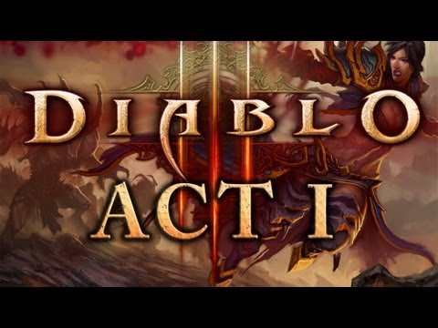 Let's Play Diablo 3 as Wizard - Act I part 1