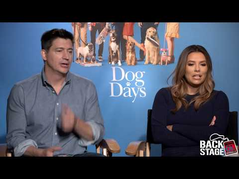 DOG DAYS With Eva Longoria & Director Ken Marino