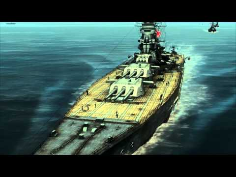 Silent Hunter 4: Battleship Yamato sunk by US Navy Balao Class submarine