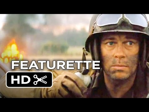Fury Featurette - Go Inside The Tanks (2014) - Michael Peña, Brad Pitt War Movie HD