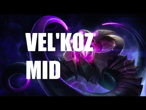 League of Legends - Vel'Koz - Full Game Commentary