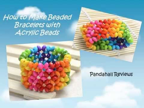 How to Make Beaded Bracelets With Acrylic Beads - Pandahall Reviews