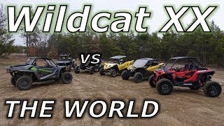 Textron Wildcat XX vs YXZ, XP1000, X3, and Turbo S! PART 1!
