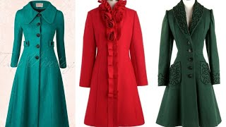 outstanding and trendy French style evergreen fashion long coat/jackets design/trench coat design