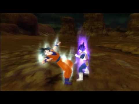 Dragonball Z Raging Blast 2 - Goku VS Vegeta (Scouter)