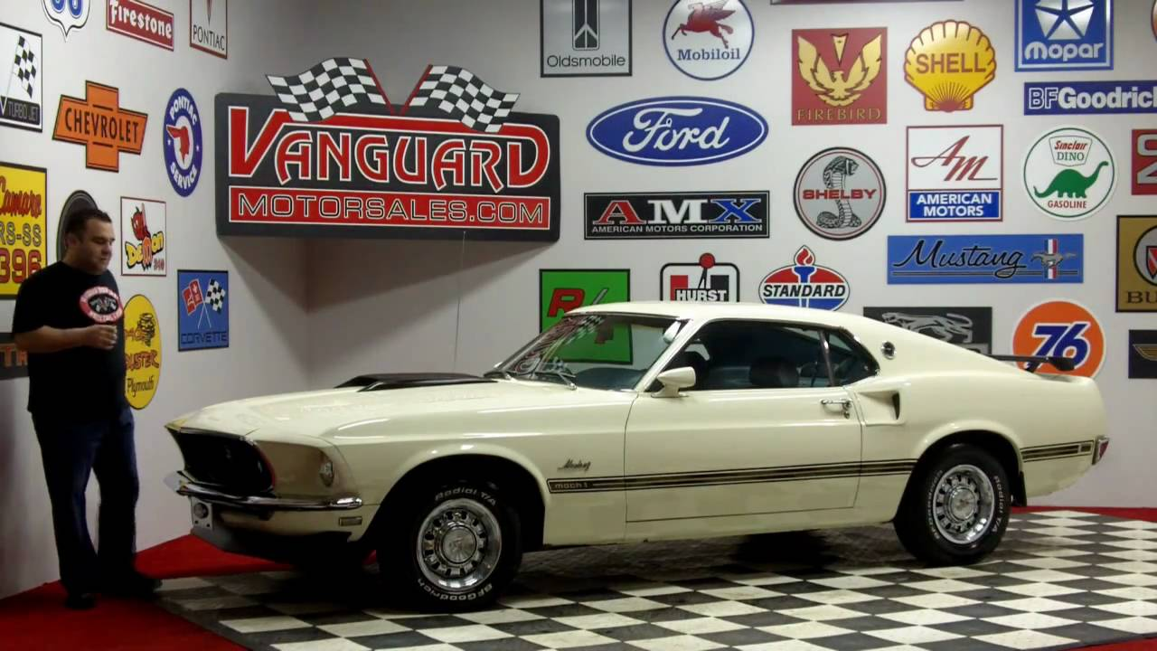 1969 Ford Mustang E 6 Cylinder Fastback Classic Muscle Car