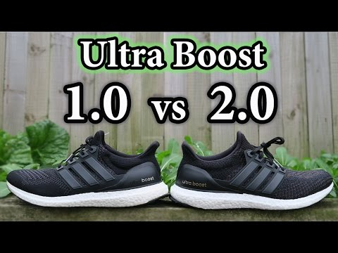 Adidas Ultra Boost V1 Vs V2