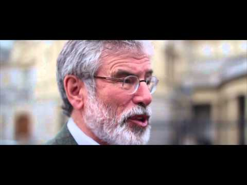 Gerry Adams comments on Scottish Referendum result