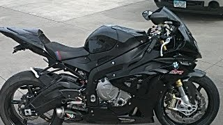 David's 2012 BMW S1000RR with Austin Racing full inconel exhaust--1st ride!