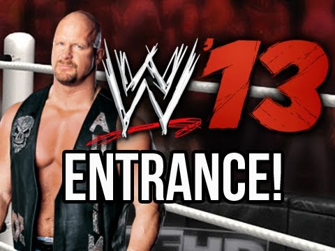 WWE 13 - Stone Colds Official Entrance (WWE 13 Gameplay)