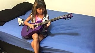 Download Lagu Amazing Guitar Solo on kids Toy First Act Guitar Gratis STAFABAND