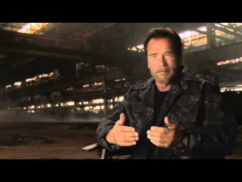 Arnold Schwarzenegger NEW Interview Video   MAY 30 2014   EXPENDABLES 3 (2014) [HD]