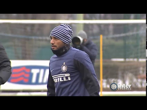 ALLENAMENTO INTER REAL AUDIO 29 01 2014