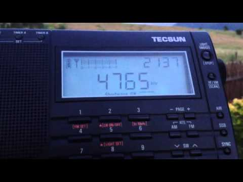 Radio Tajikistan (4765 kHz) received in Romania