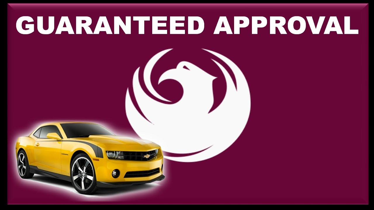 phoenix az automobile financing guaranteed poor credit car loan approval without down payment. Black Bedroom Furniture Sets. Home Design Ideas