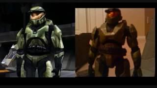 Halo Combat Evolved Custom MasterChief Figure (Old)