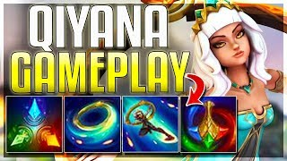 Qiyana ALL ABILITIES Revealed + Gameplay Footage!! New AD Assassin - League of Legends