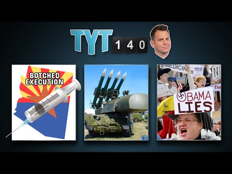 Botched Execution, Ebola Victims, Obamacare Nos. & Giant Fart Machine | TYT140 (July 24, 2014)