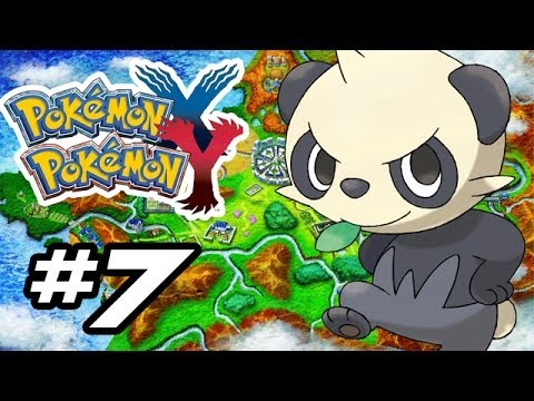 Pokemon X and Y Gameplay Walkthrough - Part 7 - PANCHAM LUST!! (Pokemon Gameplay 3DS HD)