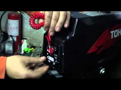 обкатка лодочного 2 тактного мотора в видео