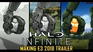 Halo Infinite - Making of E3 2018 Trailer (Presentation)